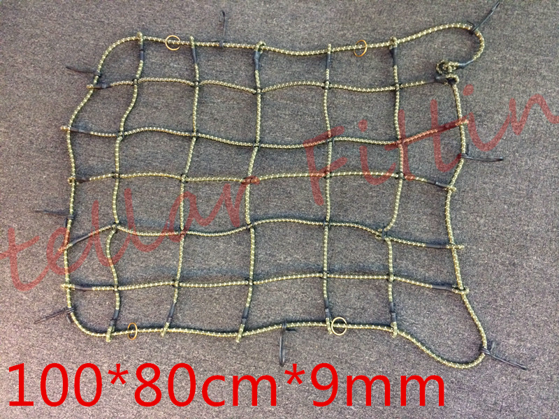 Suitable for:automobile SUV car The top Luggage nets,Baggage car net twine,Luggage tighten net belt 100cm*80cm*9mm(China (Mainland))