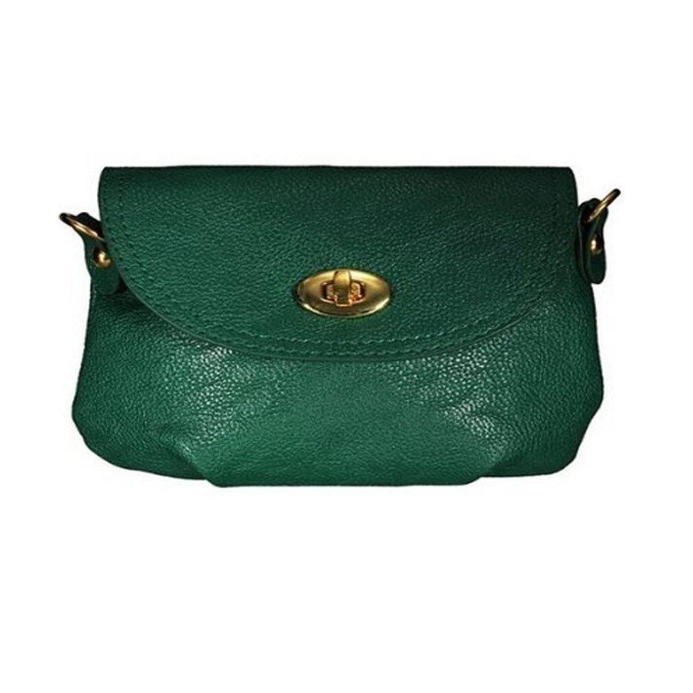 COFA Women Handbag Satchel Cross Body Purse Bags Dark Green(China (Mainland))