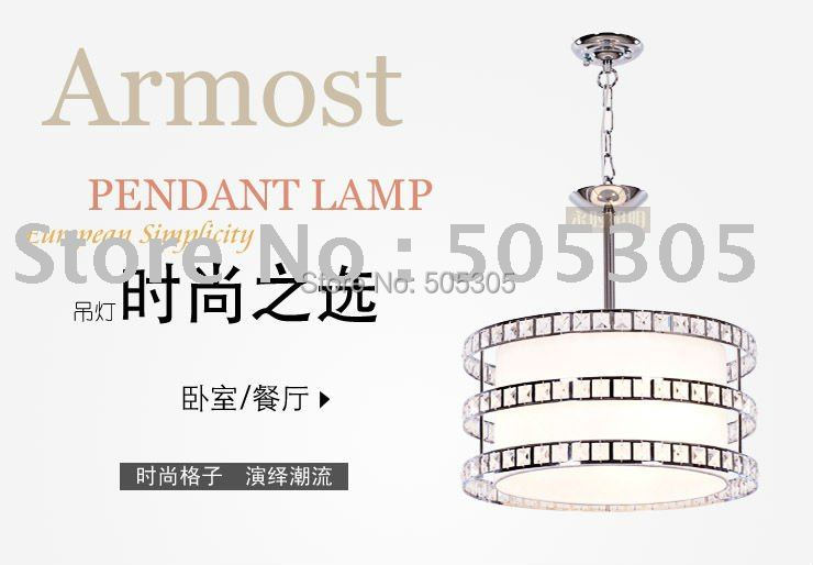 Free Shipping Factory Price Newly Hot Sales Elegant Dining Hall Pendant Lamp (White Color)ETL6661(China (Mainland))