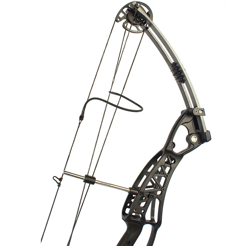Black 50 60Lb Right handed Magnesium Hunting shooting compound bow and arrow set for beginners China