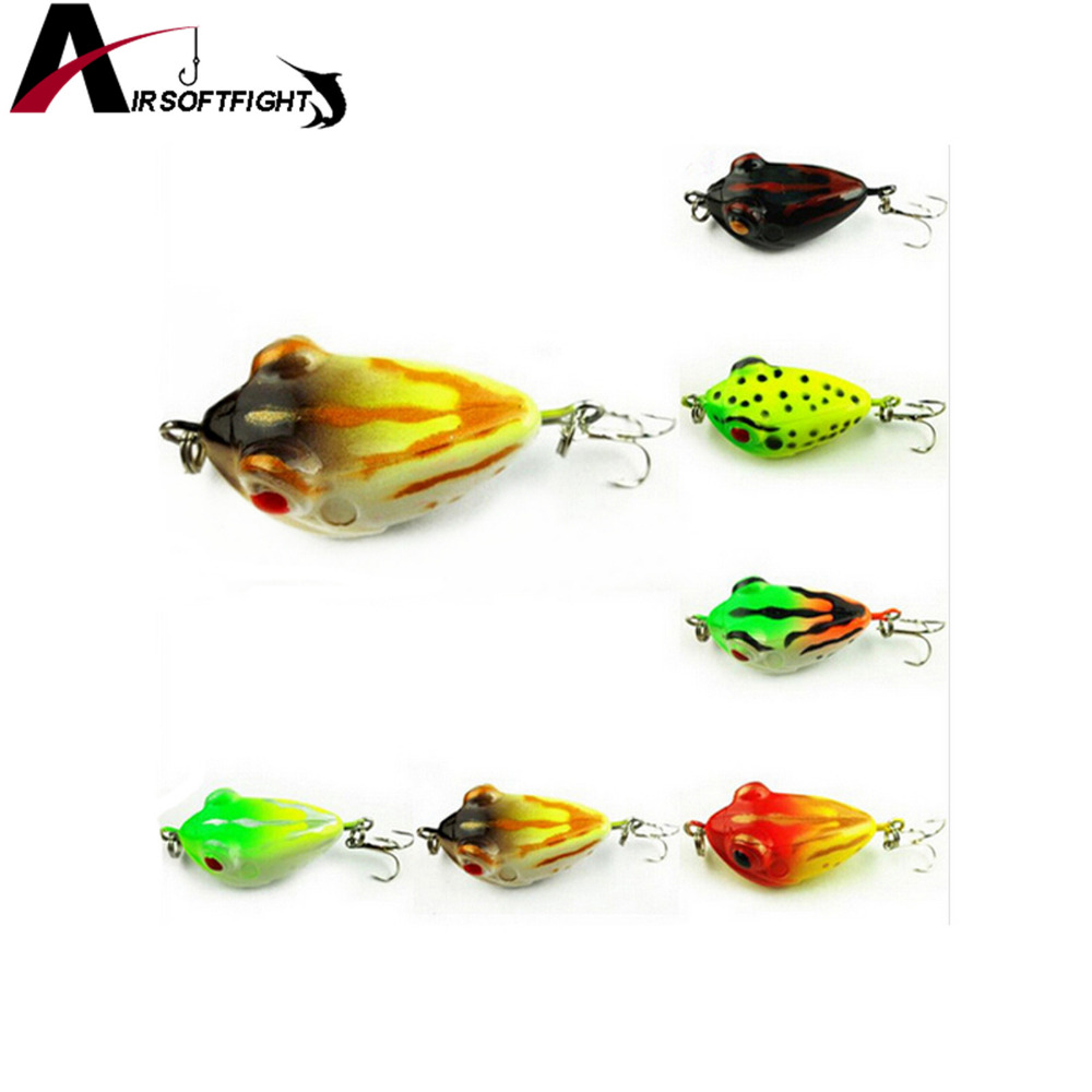 Online buy wholesale small plastic frogs from china small for Frog bait fishing