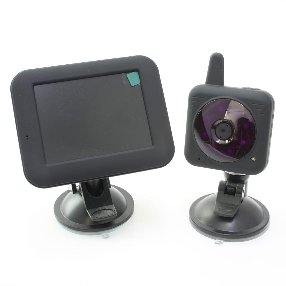 4 3 voiture cam moniteur 2 4 g sans fil vid o surveillance de b b cam ra de s curit nigh. Black Bedroom Furniture Sets. Home Design Ideas
