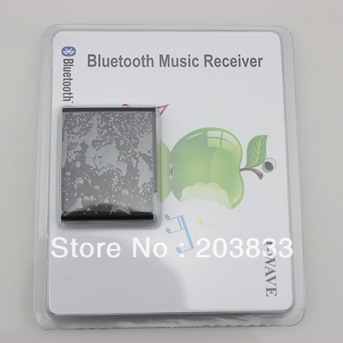 new arrival and nice design wireless bluetooth music receiver with high quality