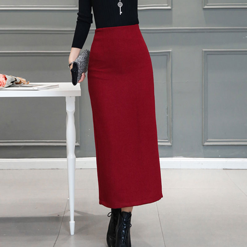 Online Buy Wholesale long pencil skirt with split from China long ...
