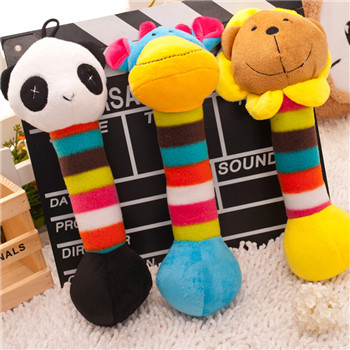 New arrival small dog pet toys good cat bell plush dog chew toys pet supplies Sound ball durable para cachorros puppy toys(China (Mainland))