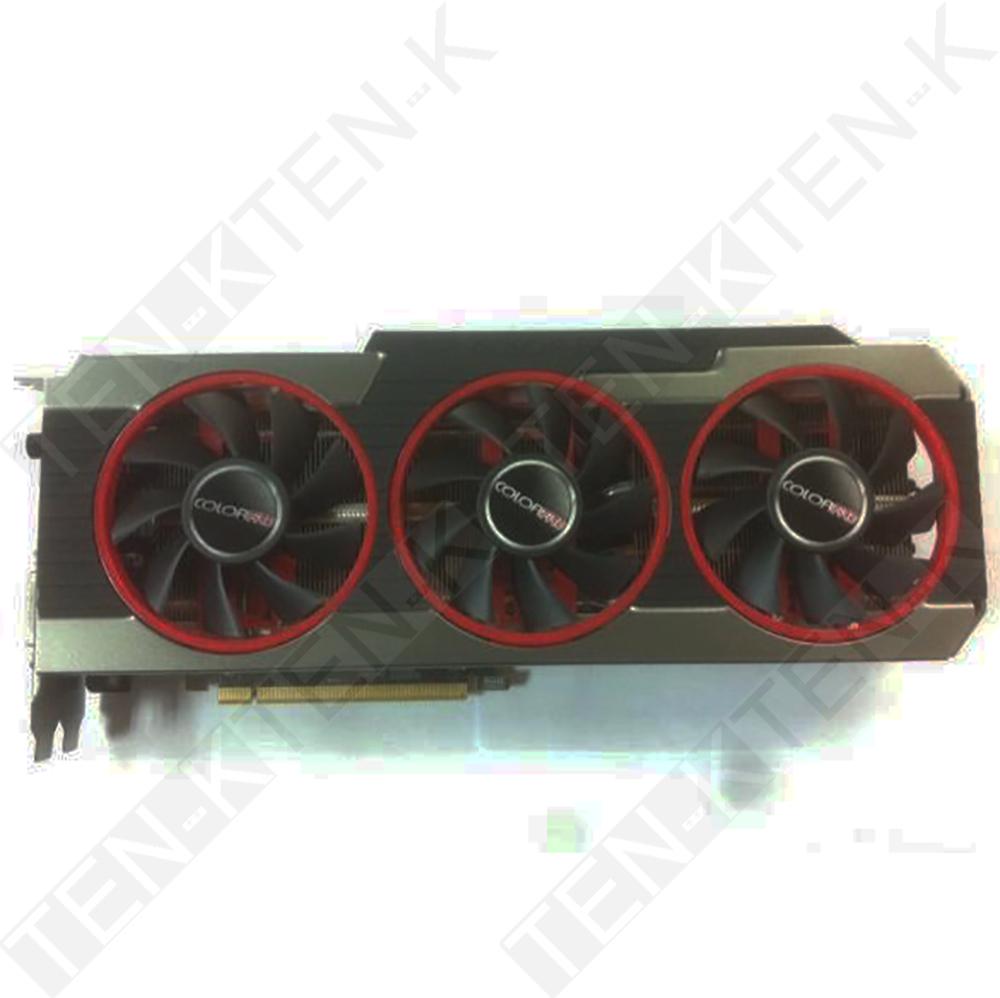 Used ColorFire 2GB GDDR5 R9270X 1050/1400MHz 256Bit 179.2GB/s BandWidth 1280SP R9 270X High Gaming Performance Graphics Card(China (Mainland))