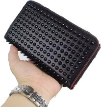 2015 Womens Men Wallets Luxury Brand Wallet Genuine Leather Card Holder Fashion Clutch Women 12 Colors