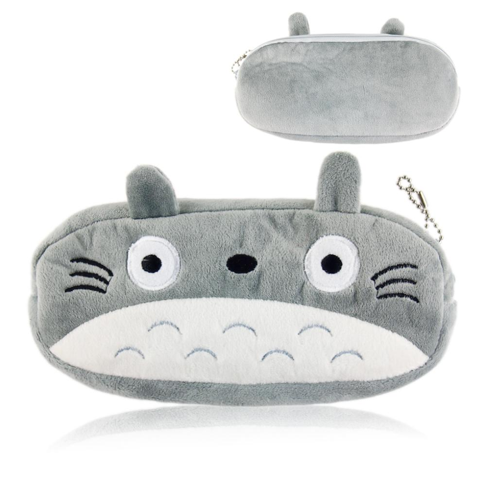 New Kawaii Japan TOTORO School Kids Pen Pencil BAG GIFT BAG Lady Girl's Cosmetics Purse BAG & Wallet Coin Holder Pouch BAG Case(China (Mainland))