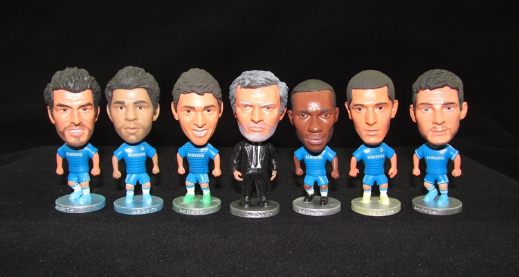 NEW Soccer Toy Figurine Soccer figure Dolls Football player mannequins soccer star model football fans collection free shipping(China (Mainland))