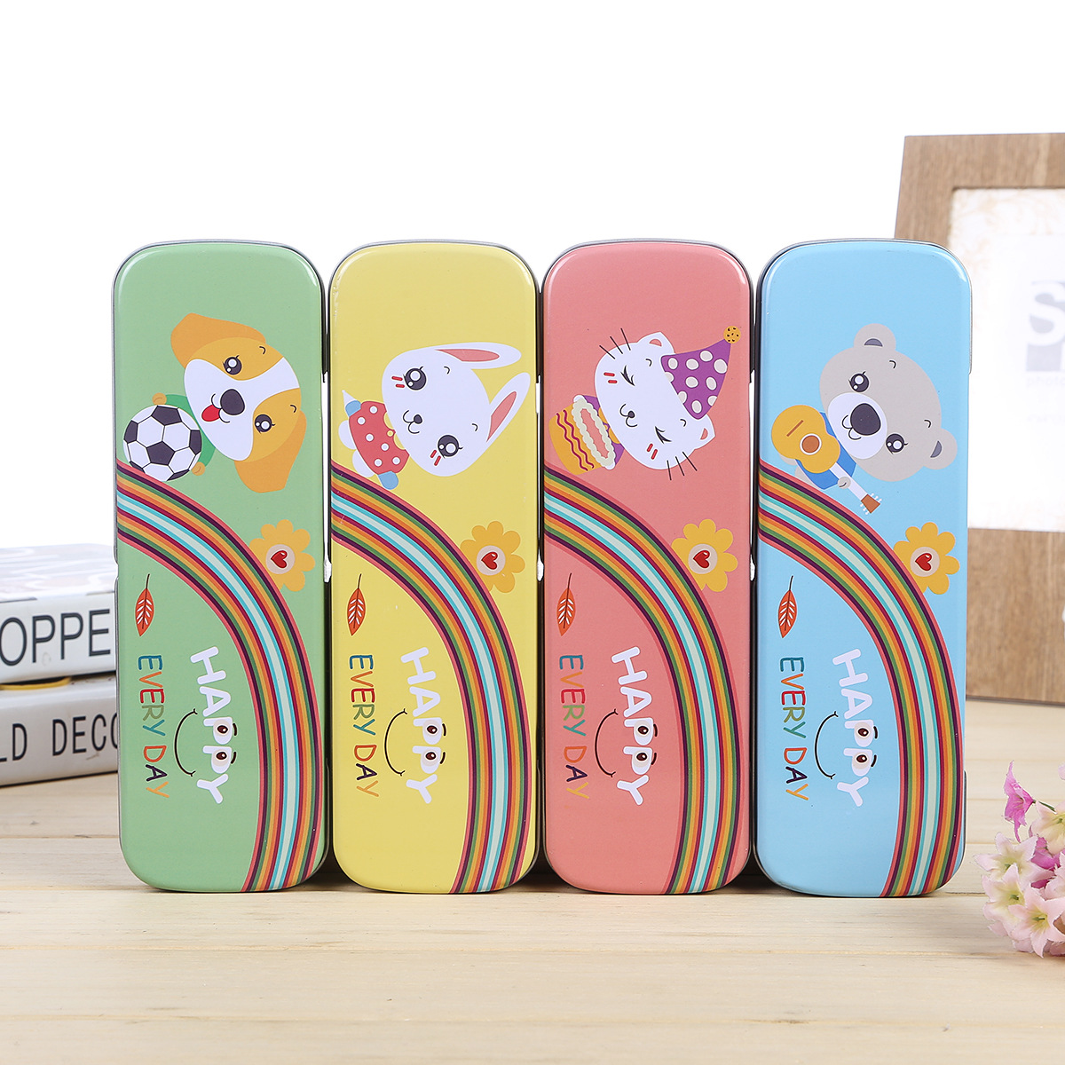 animal dog bear cat metal japanese korea cute tin kawaii