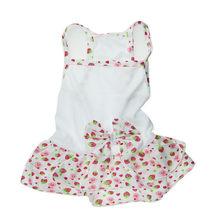 Изящное милое платье с принтом щенка, собаки, кошки, весенне-летняя дышащая юбка с фруктовым принтом, модная юбка для собаки(China)