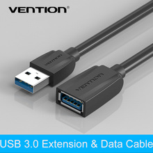 Vention Newest USB3.0 2.0 A Male To Female Extension Cable  3.0 Usb Extension Data Transfer Sync Super Speed Cable(China (Mainland))