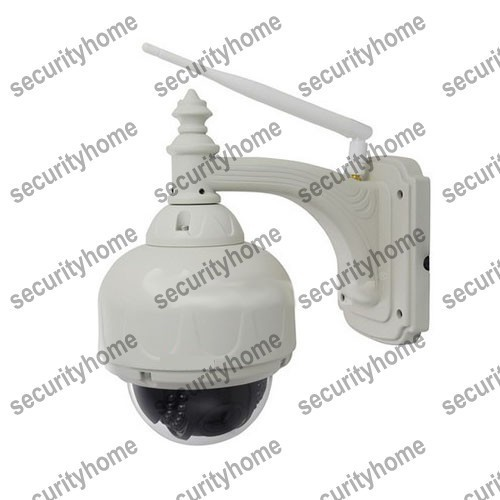 Mini 3x Optical Zoom Wifi IP Speed Dome Security Camera 720p 4-9mm zoom lens night vision PTZ camera