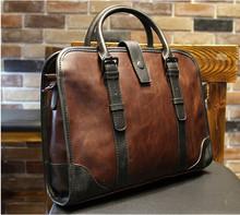 Sac en cuir hommes mallette, Loisirs sac à main, Hommes sac à bandoulière, Sac à main d'affaires travail, Nouveau mode mallette(China (Mainland))