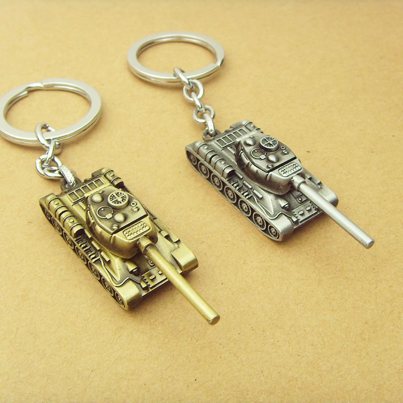 Wot Game World of Tanks KeyChain 5 cm Alloy Metal Tank Model Pendent Keyring gift key chain ring holder for car Fans souvenirs(China (Mainland))