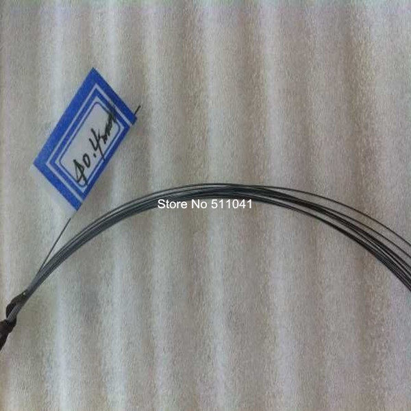 NITI Super elastic wire  nitinol fishing titanium  round wire nitinol 0.40mm diameter 15 meters length wholesale price<br>