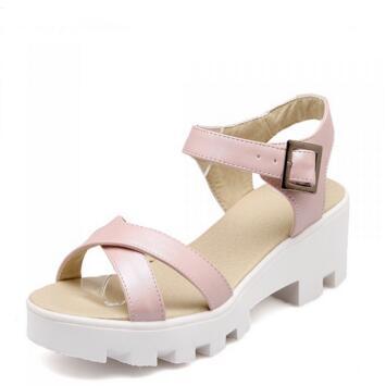 New 2016 Fashion Summer Sandals Gladiator Women Shoes Wedges Platform Shoes Female High-heeled Sandals 02(China (Mainland))