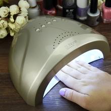 Máquina Secadora de Uñas Profesional. Lampara UV LED con Gel. SunOne Luz Blanca de 48W