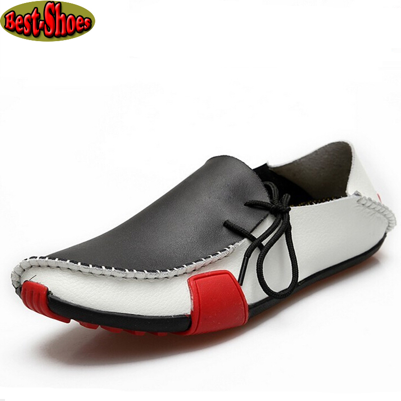 2015 new high quality casual genuine leather shoes