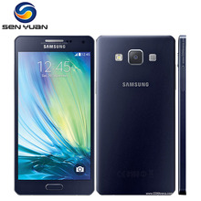 "Buy Original Samsung Galaxy A5 Dual Sim Mobile Phone 3G&4G A5000 Quad-core 5.0"" 13MP RAM 2GB ROM 16GB cell phone STORE) for $161.80 in AliExpress store"