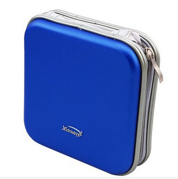 Hot sales 40 CD holders DVD,CD bags strong hard cover crush resistance Classic CD cases(China (Mainland))