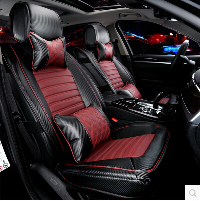 Best! Special seat covers for Ssangyong Korando 2014 fashion carbon fiber leather seat cover for Korando 2015-2011,Free shipping<br><br>Aliexpress
