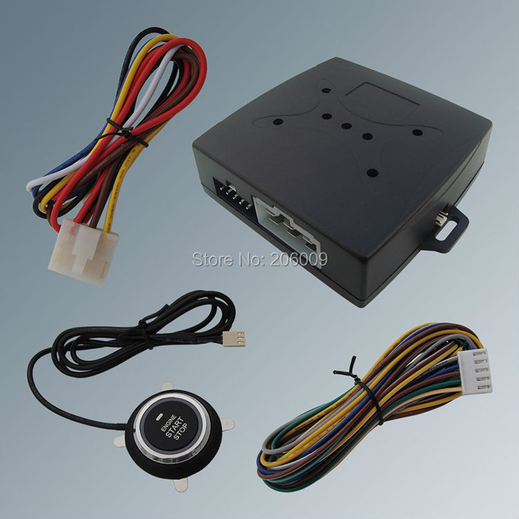 Smart Remote Car Starter Module With Engine Start Stop Button 10 Minutes Countdown Stop Car & Have Hand Brake Testing Interface(China (Mainland))