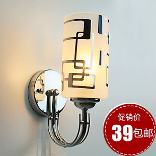 Modern brief ofhead lamps led stair small wall lamp single wall lights 696(China (Mainland))