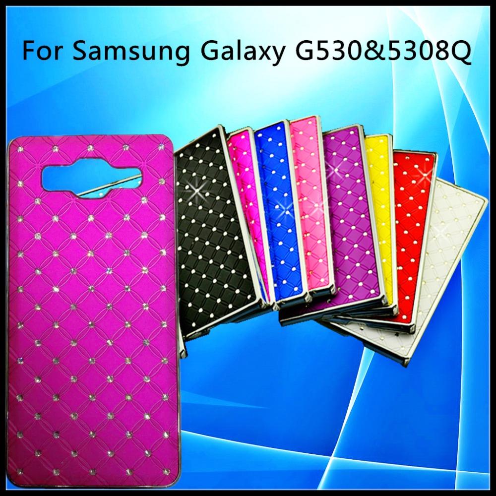 10 colors For Samsung Galaxy G530&5308Q phone case mosaic diamond decorative style shock proof,anti impact,anti slip phone shell(China (Mainland))