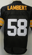 Mike Webster Jack Lambert Lynn Swann GREG LLOYD Hines Ward Joe Greene Men's Throwback Jersey Size 48-56(China (Mainland))