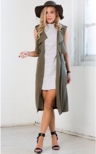 Duster Jacket Womens