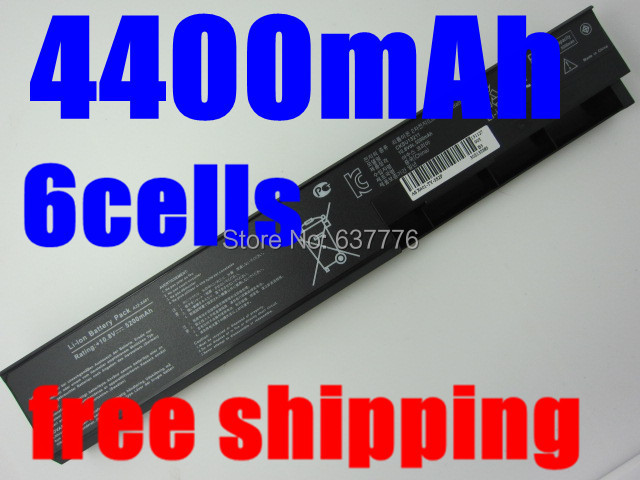 4400MAH 6cells Laptop Battery For Asus A31-X401 A32-X401 A41-X401 A42-X401 X301 X301A X301U X401 X401A X401U X501 X501A X501U(China (Mainland))