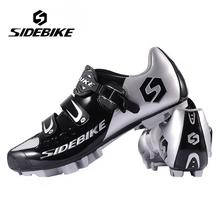 Hot SIDEBIKE Breathable MTB Cycling Shoes Adjustable Road Bike Shoes for Mountain Bike Racing MTB Bike Shoes Size EUR 40-46(China (Mainland))