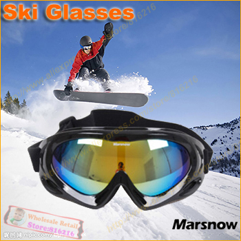 2014 Winter Men Women anti-UV anti-fog windproof skiing glasses ski goggle Outdoor hiking bike goggles Snowboard Glasses - Fashion the benefits cap / clothing accessories stores store