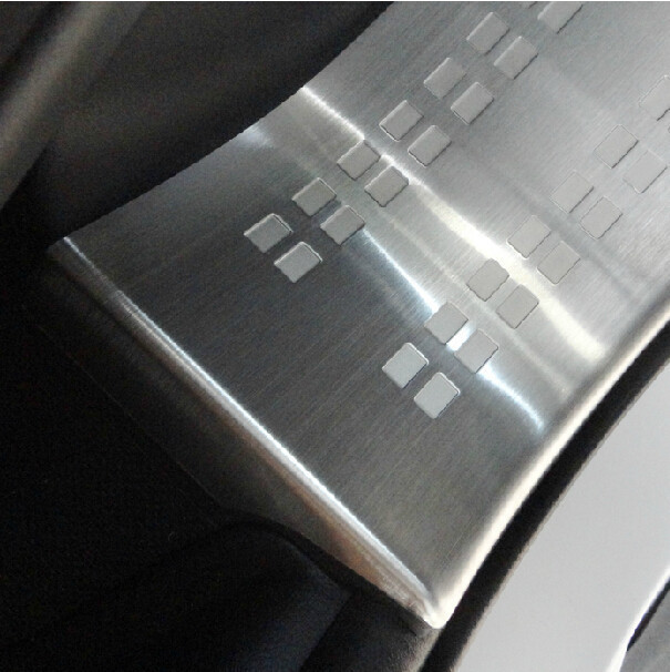 Stainless Steel Inner and Outer Side Door Sill Scuff Plate Trims 8pcs for 2013 Mitsubishi Outlander Samurai