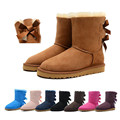 UG snow boots Winter brand warm non slip waterproof women boots mother shoes casual cotton winter