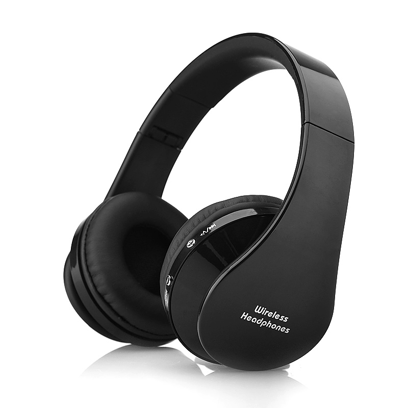 Universal Wireless Bluetooth V3.0 EDR A2DP Stereo Headset Handsfree Headphones Earphone Mic Black For iPhone For Samsung(China (Mainland))