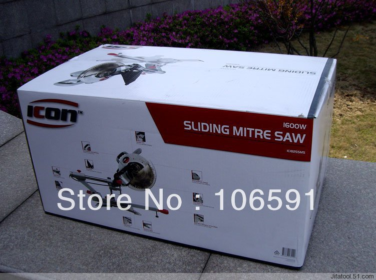 New style sliding Miter Saw / Saw aluminum machine belt drive,sliding compound miter saw(China (Mainland))