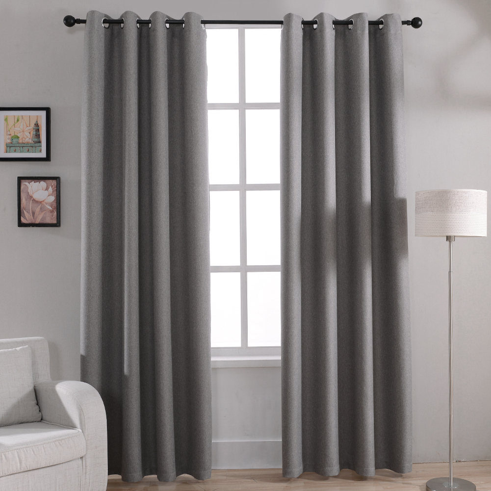 Online kopen Wholesale 100% polyester curtain drape uit China 100 ...
