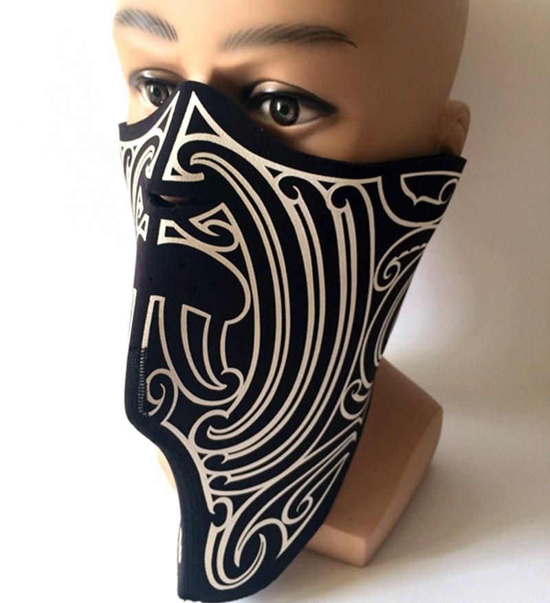 Neoprene Hunting Mask Outdoor Sports Neck Warmers Motorcycle Balaclavas Skiing Cycling Windproof Protective Half Face Mask(China (Mainland))