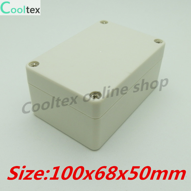 100% new 100x68x50mm plastic project box abs for enclosure instrument electron housing control junction waterproof electr box(China (Mainland))