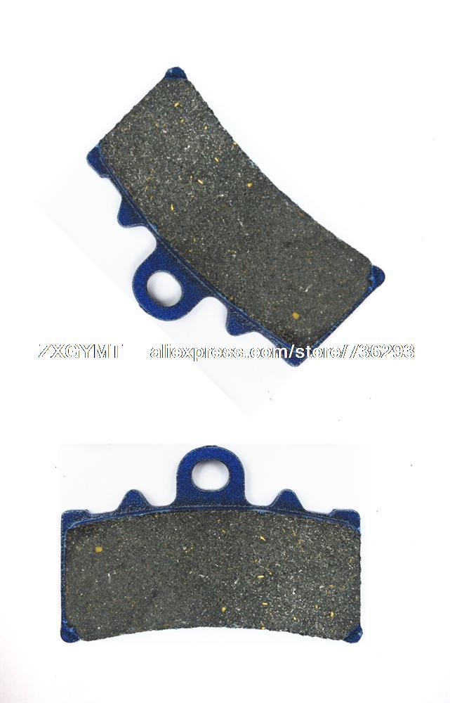 Motorcycle Semi Metallic Front Disc Brake Pads for KTM RC200 RC 200 2014 & up(China (Mainland))