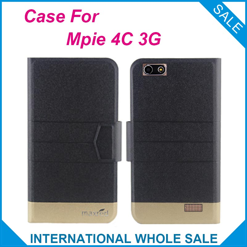 Mpie 4C 3G Case High Quality New Fashion Business Ultra thin Flip Leather Case with Magnetic