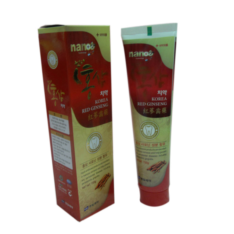 150 g TCM protection beat to tartar very well The NANO red ginseng toothpaste