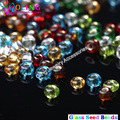 2MM AAA mixed multicolor Glass Seed beads 1700pcs 7 Color Spacer round hole DIY earrings Bracelet
