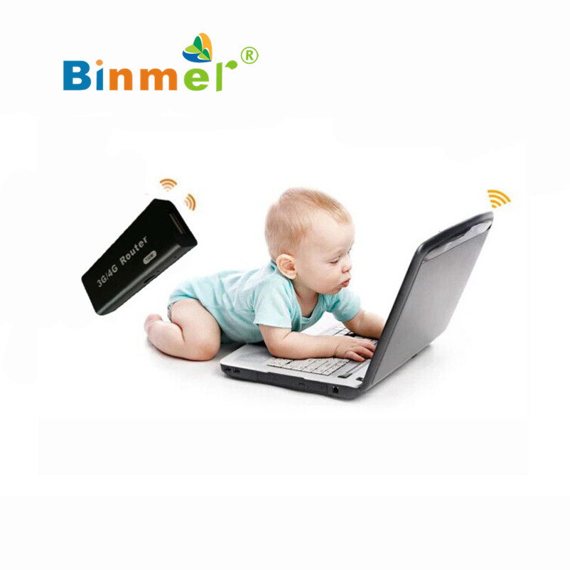 Hot selling Binmr Mini 3G/4G WiFi Wlan Hotspot AP Client 150Mbps RJ45 USB Wireless Router Black And white(China (Mainland))