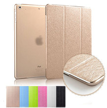 Luxury Ultra Slim Silk PU Leather Smart Case Stand Cover For ipad 4 3 2 & ipad 3 & Ipad 2 (4th Generation) Auto Sleep/Wake Up