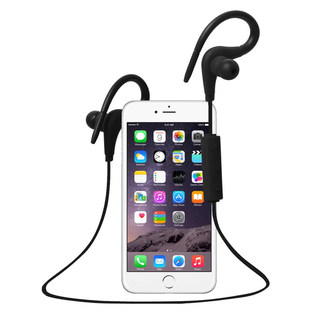 Huast Earphone Sport Bluetooth Wireless Earphones Headphone with Microphone EarHook Headset Cuffia for iPhone Xiaomi Huawei Sony(China (Mainland))