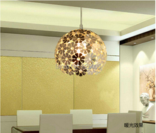 Modern brief pendant light crystal lamp restaurant lamp lamps fashion lighting $29.99 free shipping red/golden/Chrome color(China (Mainland))