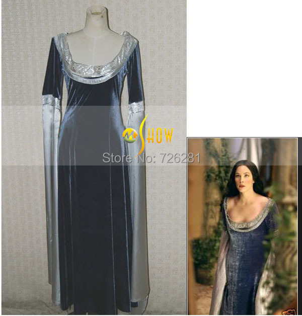Arwen Dress Costume Arwen Traveling Dress